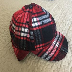 Wool Baseball Cap with Quilted Lining